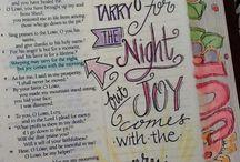 Psalms Bible Journaling