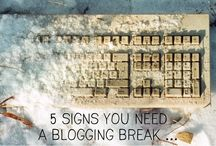 Encouragement for the Weary Blogger