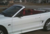 MY MUSTANG & DREAM CARS / by Tammie Albin