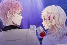 Diabolik lovers Shin × Yui