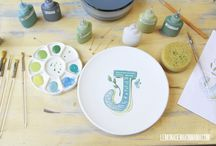 Pottery painting  / by Megan Johnson