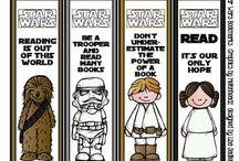 School - Library - Star Wars