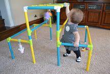 Baby gym DIY