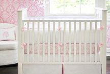 Baby  ||  Girl Nursery / Decorating ideas for a girl's nursery.