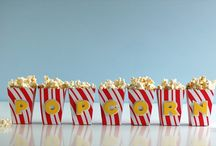 Popcorn Crafts / Great for a rainy day. Pop up a bag- play and snack :)