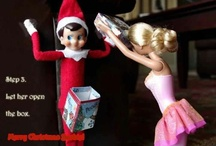 Elf on the Shelf Ideas / Creative ideas for that crafty little elf