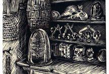 La Guilde / La Guilde Ou Le Voyage De Gupta est le premier tome d'une série de romans dont le second tome, Le Sixième Survivant, est en cours d'écriture.  L'intrigue se déroule dans les années 1900 en Inde, en Angleterre et en France, et met en scène Gupta, orphelin indien aux dons très particuliers, et Octave-Auguste, riche parisien excentrique, tous deux lancés à la recherche des survivants d'une guilde, prétendument disparue, d'alchimistes et de magiciens.