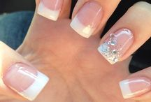 Wedding Nails / Designs for wedding nails.