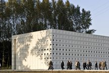 Crematorium Sint-Niklaas / Crematorium Sint-Niklaas by KAAN Architecten. Pics by @svd_fotografie