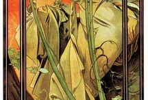 Alphonse Mucha / Art Nouveau.