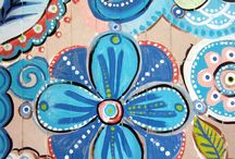 Inspiration For Hand Painted Items/murals