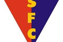 Escudos de Salus Football Club / Escudos, pins del Azulgrana