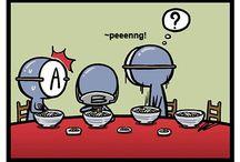 blood types comic