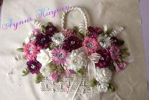 titanyum çiçekler