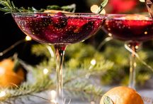 Holiday Cocktails / Festive cocktails for a party