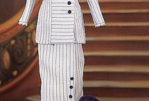 Titanic (Edwardian) era dress
