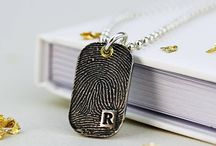 Father's Day Gift Ideas / Fingerprint Jewellery have some wonderful gift ideas - keepsakes they will treasure forever!