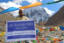 Saga Dawa Festival - Mt Kailash and Manasarovar Lake Tibet / The Saga Dawa Festival happens once in a year around May - June. This is a famous festival in Tibet near by Mt. Kailash and Mansarovar Lake. The Fesitval honors the life of Buddha.