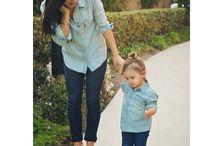 Anne&kız kombinleri