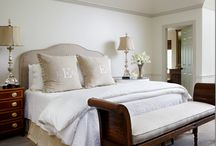 bedrooms / by Holly Mathis Interiors