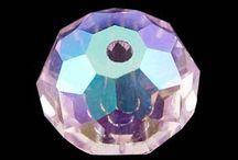 Margele Cristal Handmade / Margele din cristale fatetate, multicolore, de diferite forme si dimensiuni.