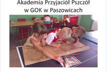 GOK w Paszowicach Akademie Przyjaciół Pszczół