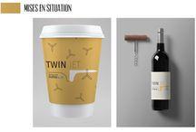 Partenariat Twin Jet - Design Graphique