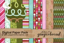 Digital Papers of Joy / oh my, I love these papers!