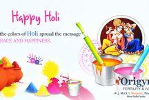 Happy Holi / Wishing you a very Happy Holi