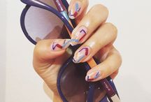 Vogue Nail Art / Every month our nail Artist Mei, will take inspiration from one of our eyewear collections and create something special for you. / by Vogue Eyewear