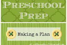 Preschool lesson planning and prep