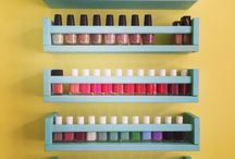 Nail Polish Storage Ideas