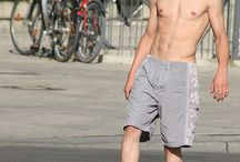 ( Guys In Grey Shorts ) / Guys In Grey Shorts  / by ( Gay Pride Hot & Cute Guys )