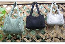 knit bag & needle bag