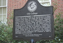 Georgia Colleges / You can also visit http://collegehistorygarden.blogspot.com/ for more information.