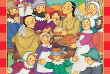 Thanksgiving / Kids books about Thanksgiving can be really fun as well as historical. Great to use as discussion starters for papers.  / by Books Galore