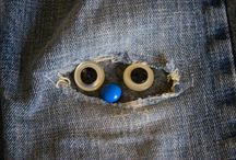 Lagning av jeans