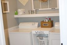 Little Laundry Room Ideas / Ideas to make the most of a small laundry room