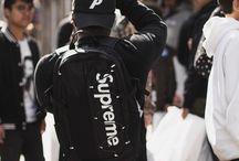 Men Backpack Swag