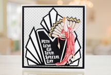 Iconic Deco Shapes / Iconic Art Deco Shapes by Tattered Lace. For more information visit: www.tatteredlace.co.uk