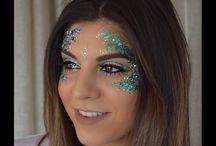 Napê - maquiagens com glitter