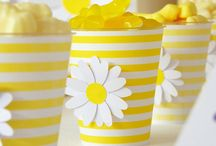 Daisy Party / Ideas for a sunshiny yellow Daisy party