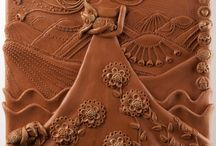 clay mural