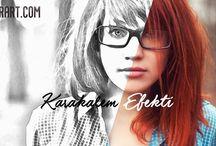 TUTORİALS / www.bugrart.com adobe photoshop tutorials