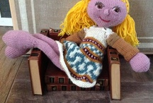 Knitting Dolls.