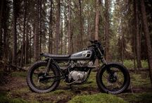 Scrambler Motorcycles / Scramblers are road motorcycles modified to make them capable of heading off the beaten track, and hopefully back again.