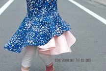 Crossover Flounce Dress