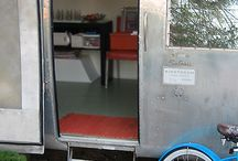 Gypsy Caravans and Vintage Campers / Moveable homes of all ilk.  / by Judy Gex