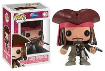 Pirates of the Caribbean / Jack Sparrow and his infamous misadventures as one of the nine Pirate Lords of the Seven Seas!