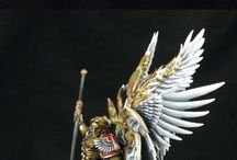 Blood Angels Miniatures (Warhammer 40k) / Gallery with really awesome examples of how to paint Blood Angels Top Level!
